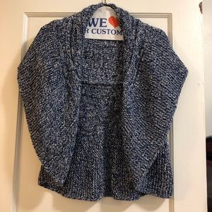 Express capes  sweater